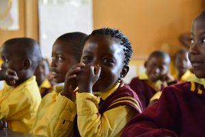Children in a class School