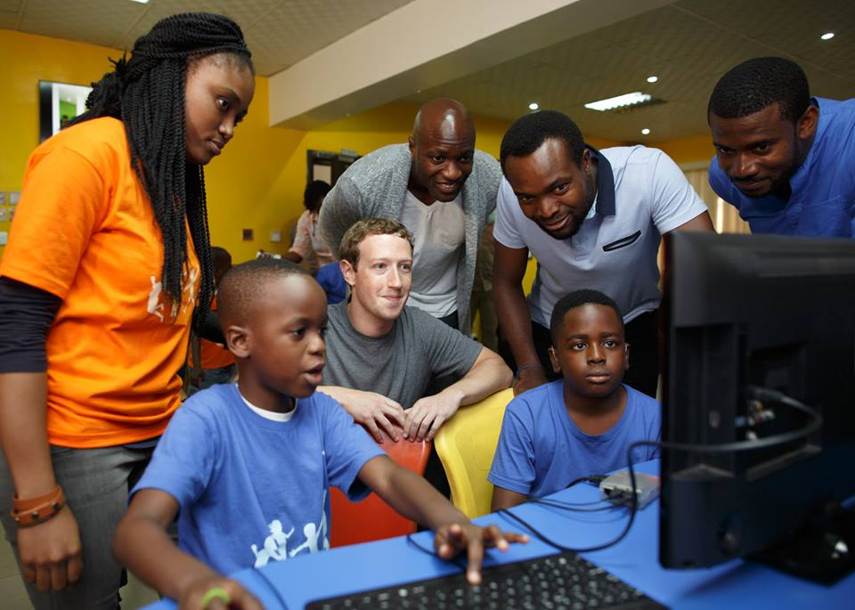 Zuckerberg in Nigeria