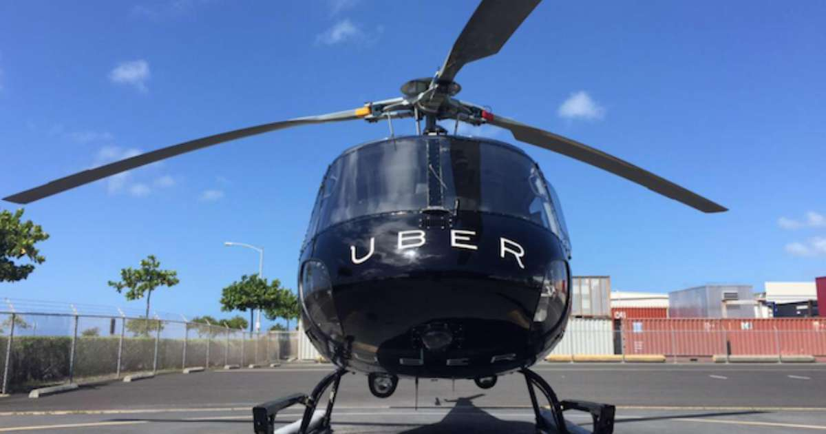 Uber Kenya To Test UberChopper Helicopter Services In Nairobi Mombasa On September 4th Pilot Project