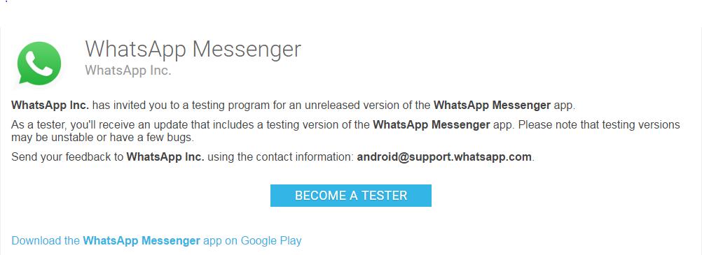 whatsapp-beta-tester