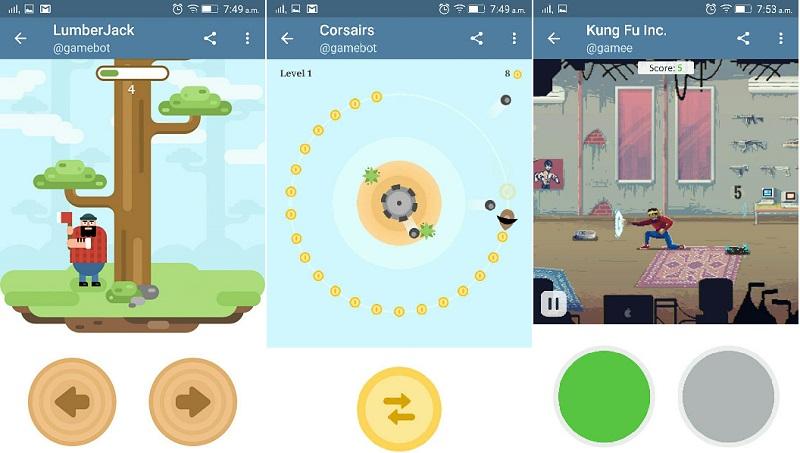 Telegram Games
