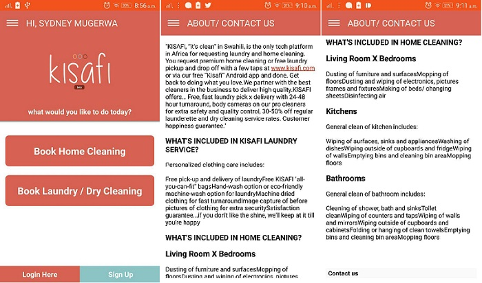 Kisafi laundry and home cleaning