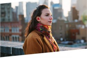 Pilot is a smart language translation earpiece by Waverly Labs