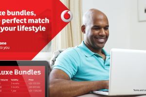 Vodafone Uganda's Karibu and Luxe bundles offer you big data volumes with longer validity.