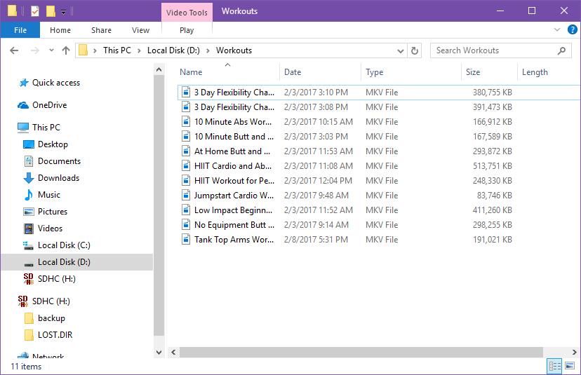 Renaming multiple files step 5