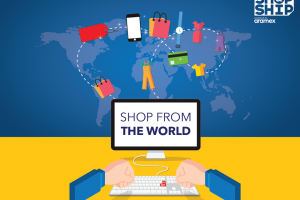 Shop & Ship by Aramex lets you shop from 18 global locations and ship to Uganda