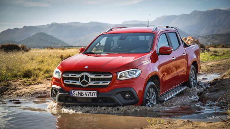 2018 mercedes benz pickup. plain pickup it will be powered by a host of engines including v6 diesel developing  between 160 hp and 190 hp as well gaspowered version for select markets in 2018 mercedes benz pickup