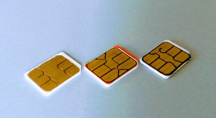 Mini-SIM vs Micro-SIM vs Nano-SIM vs Embedded-SIM/e-SIM