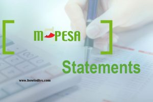 How to get your Safaricom M-Pesa Statement