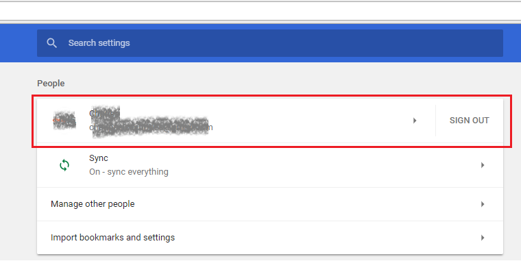 Chrome Password Management
