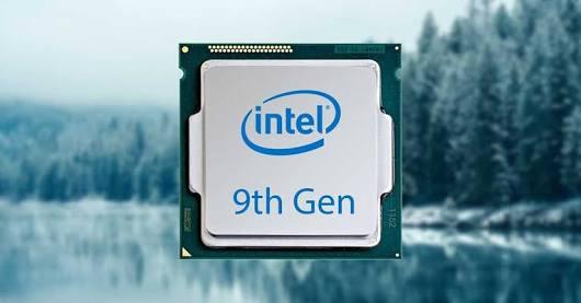 Intel's 9th Gen