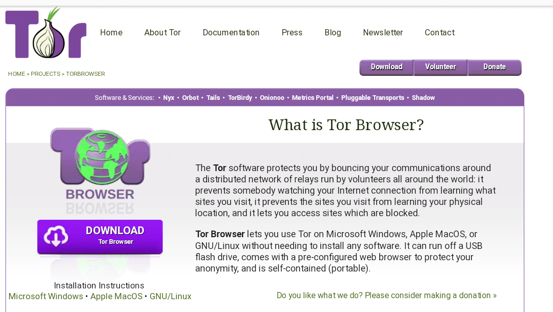 Top privacy-focused browsers