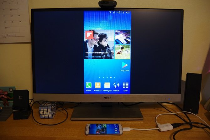 How to connect your smartphone to TV using USB