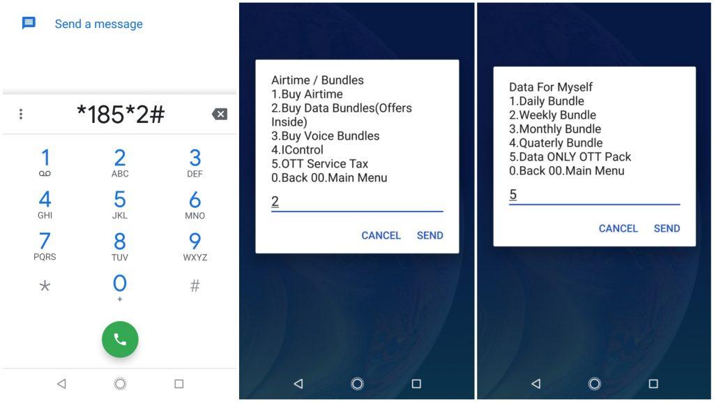 Airtel data OTT bundles