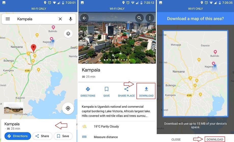 Offline Maps In Google  Google Maps Print, Google Maps