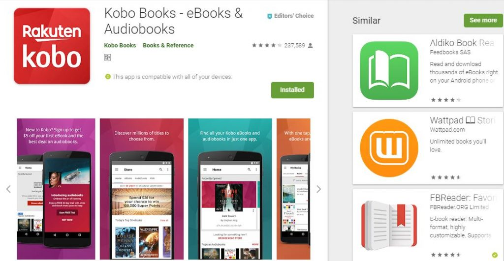 Top 5 Apps for reading eBooks on Android devices - Dignited