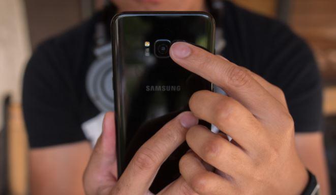 front vs rear vs side fingerprint sensor
