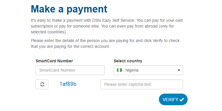 Pay Your DStv and GOtv Subscriptions in Nigeria