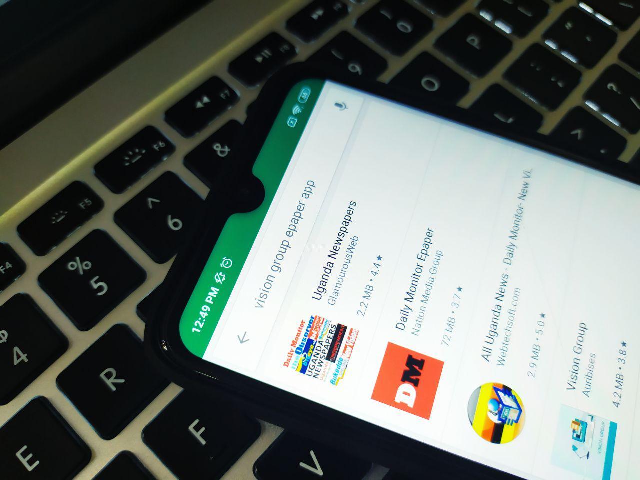 Vision group e-paper app