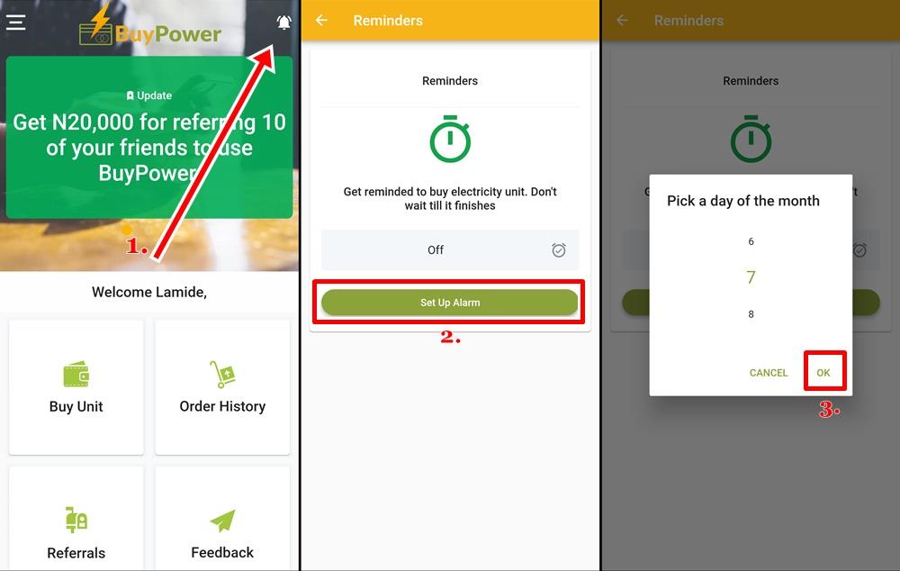 Recharge prepaid meter online