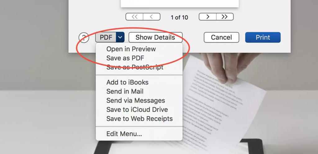 Convert Webpages to PDF on PC