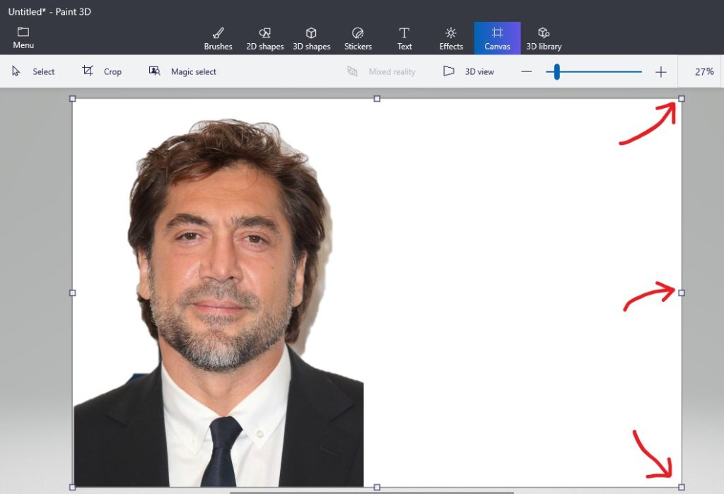 Merging with Paint 3D