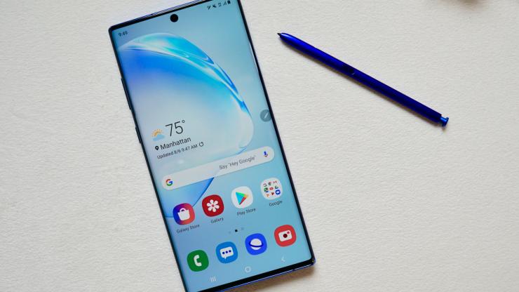 Galaxy Note 10 vs Galaxy S10