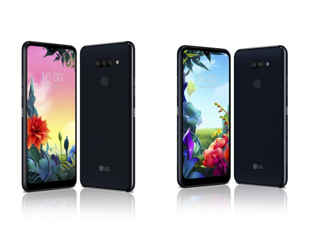 LG K50s LG K40s