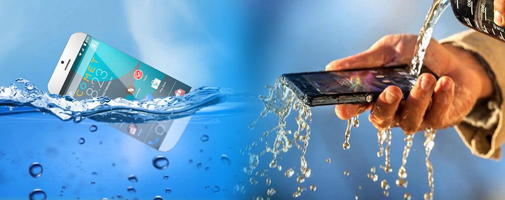 Waterproof vs water-resistance