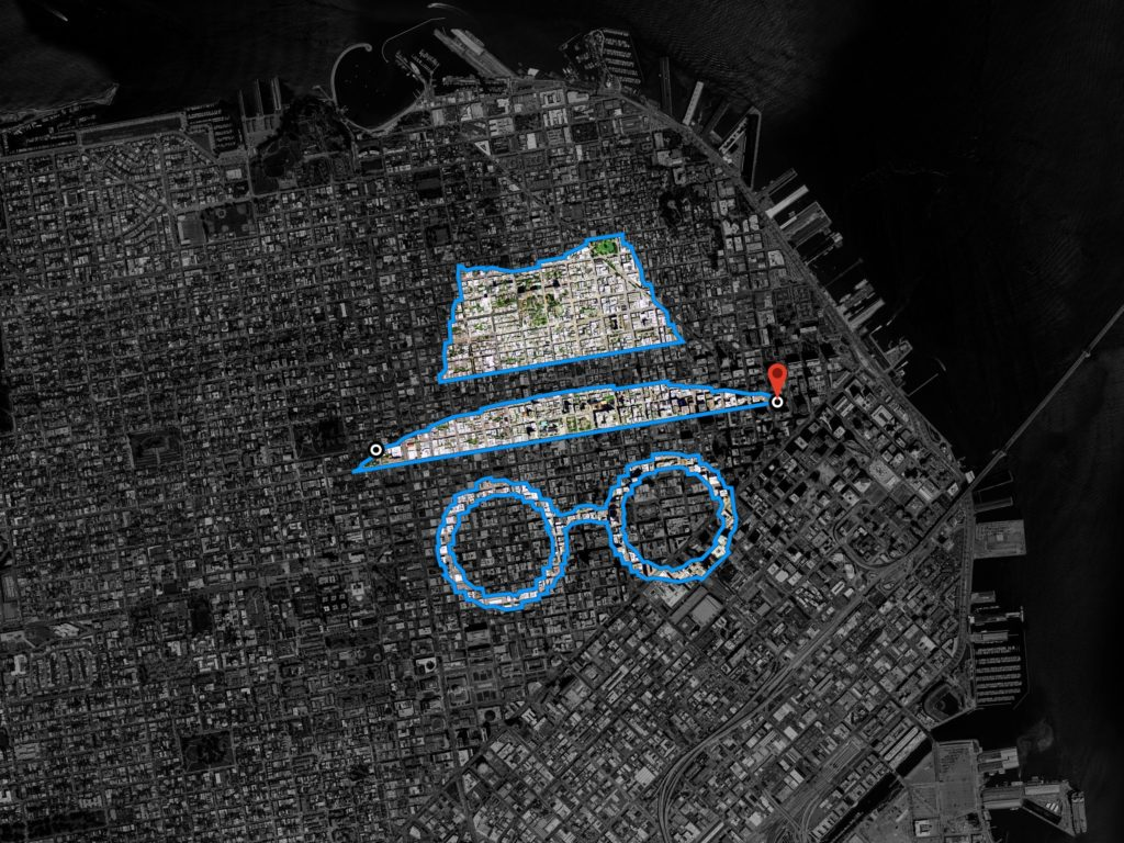 Google Maps Incognito Mode