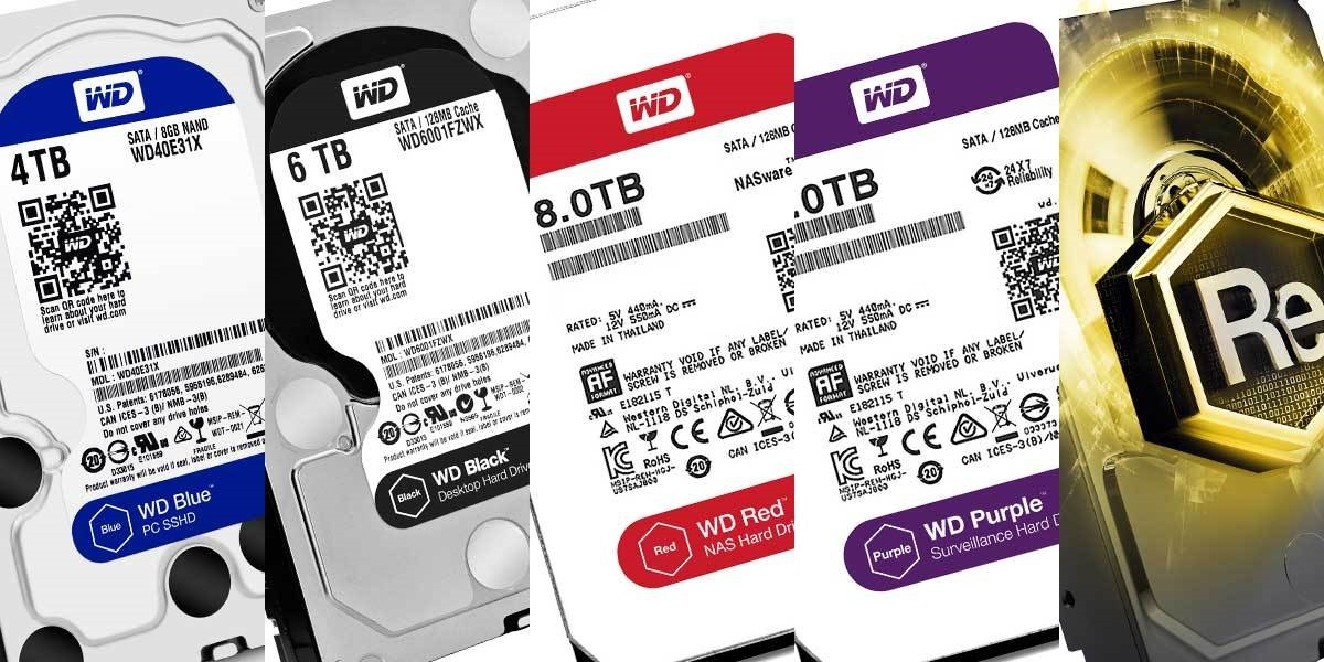 Western digital drives