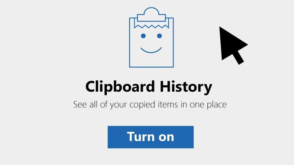 Windows 10 Clipboard History