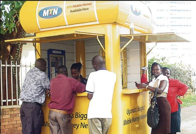 MTN money booth