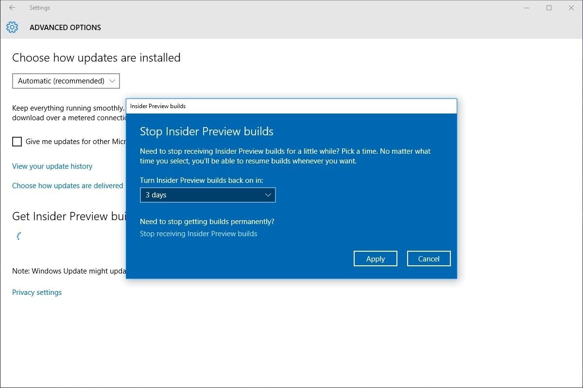 pros cons windows insider program