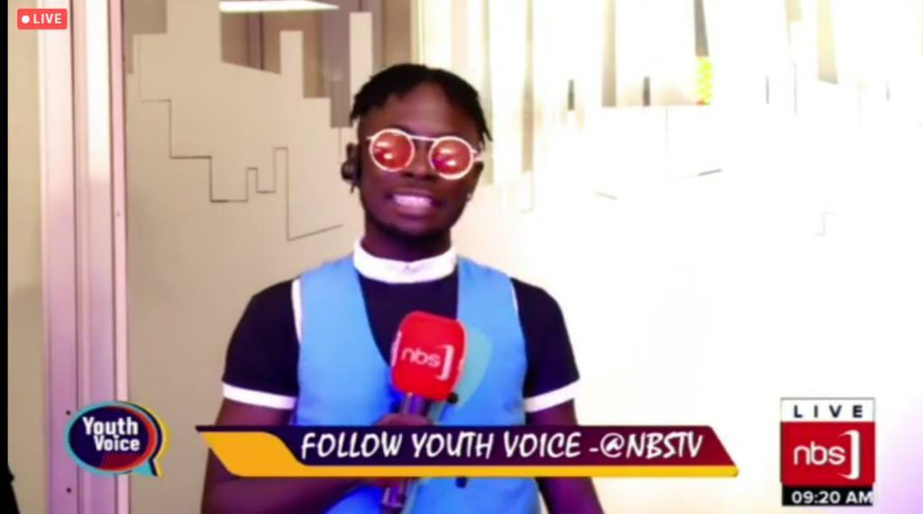 Sreenshot of NBS TV Live stream