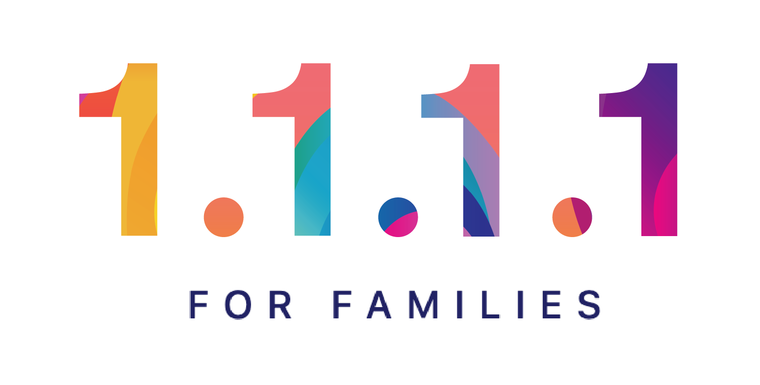1.1.1.1 for families