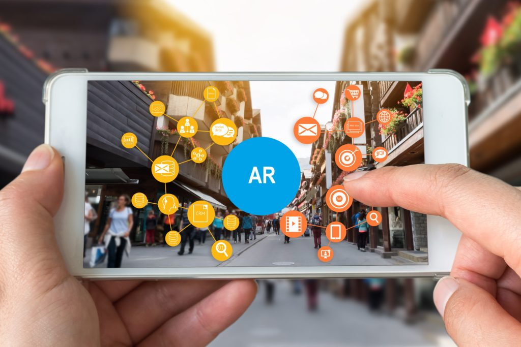 Smartphone supports Augmented Reality