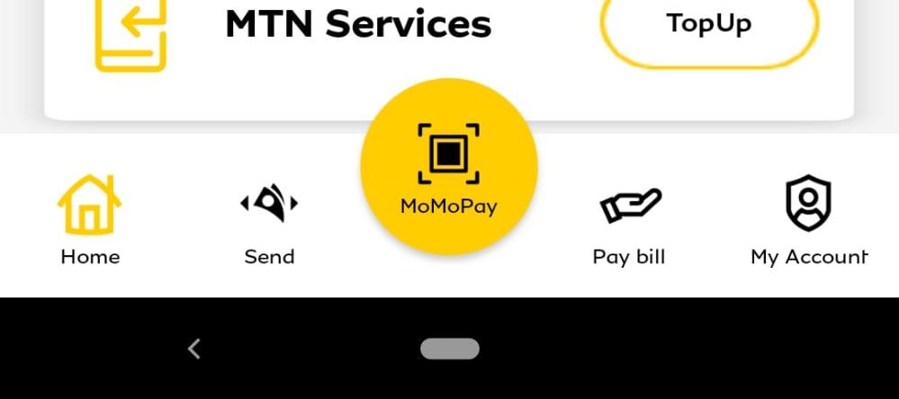 Use Momo Pay from the MTN Momo App