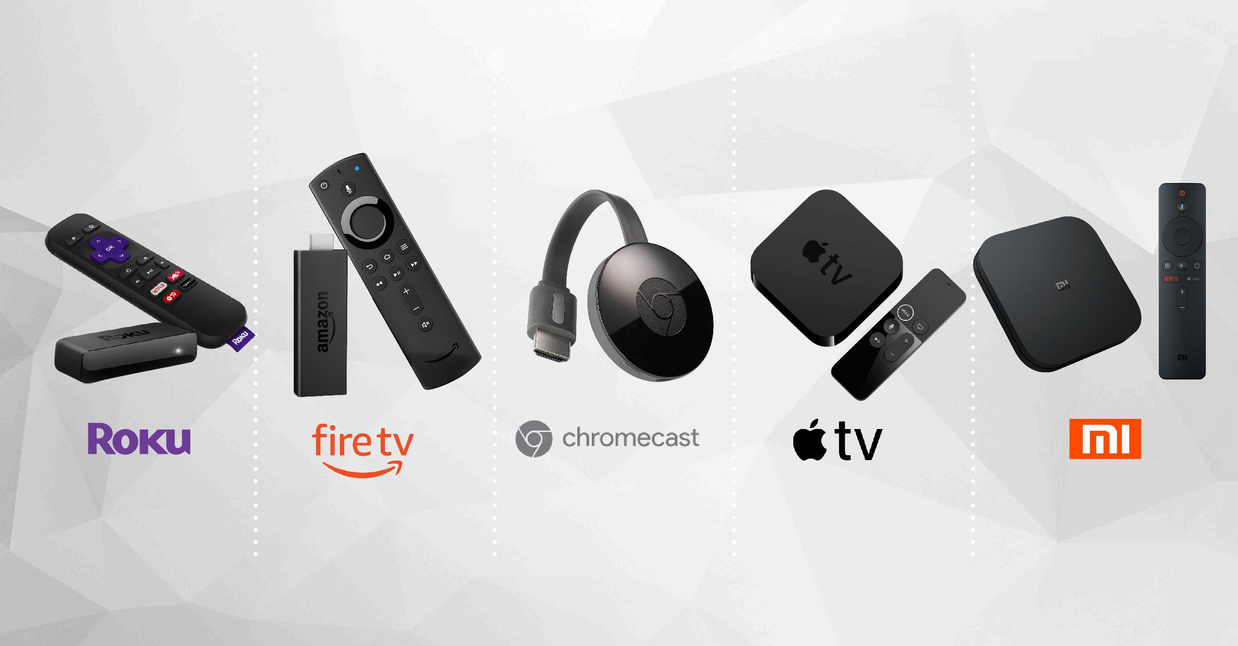 Roku Express vs Fire TV vs Chromecast vs Apple TV vs Mi Box S: What  Streaming Device Is Right for You? - Dignited