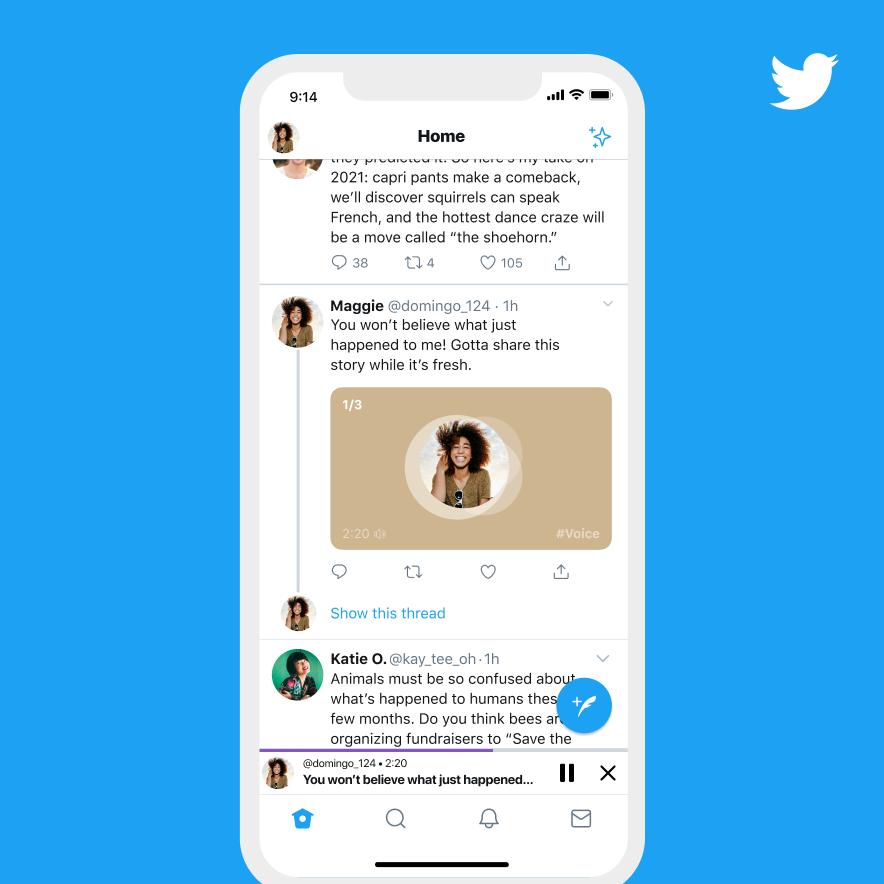 Voice Tweets on iOS