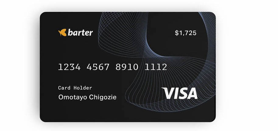 Virtual Dollar Card on Barter