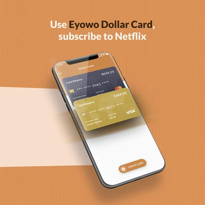 Virtual Dollar Card on Eyowo