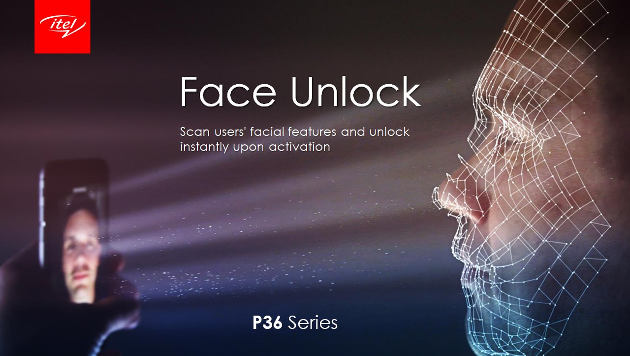 iTe P36 and P36 Pro face unlock