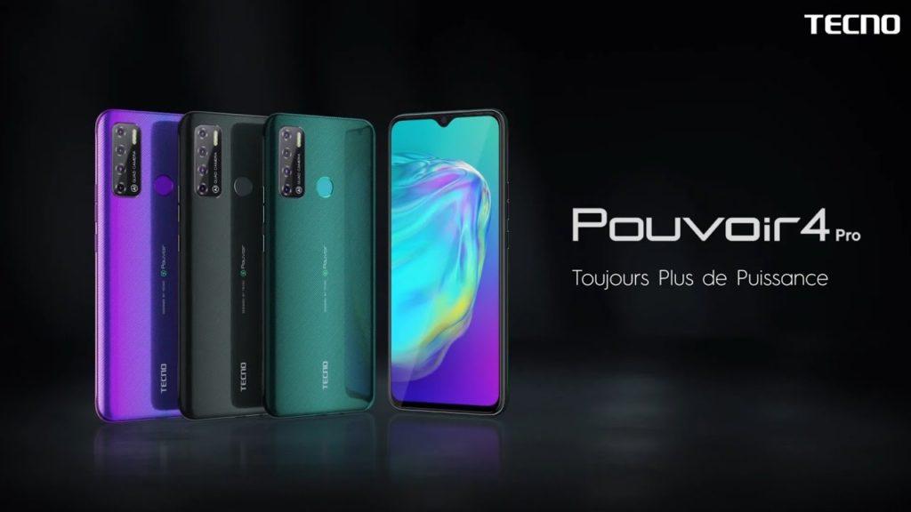 Tecno Pouvoir 4 Smartphone