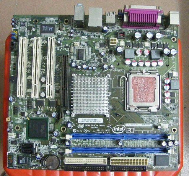 D865GSA integrated graphics card