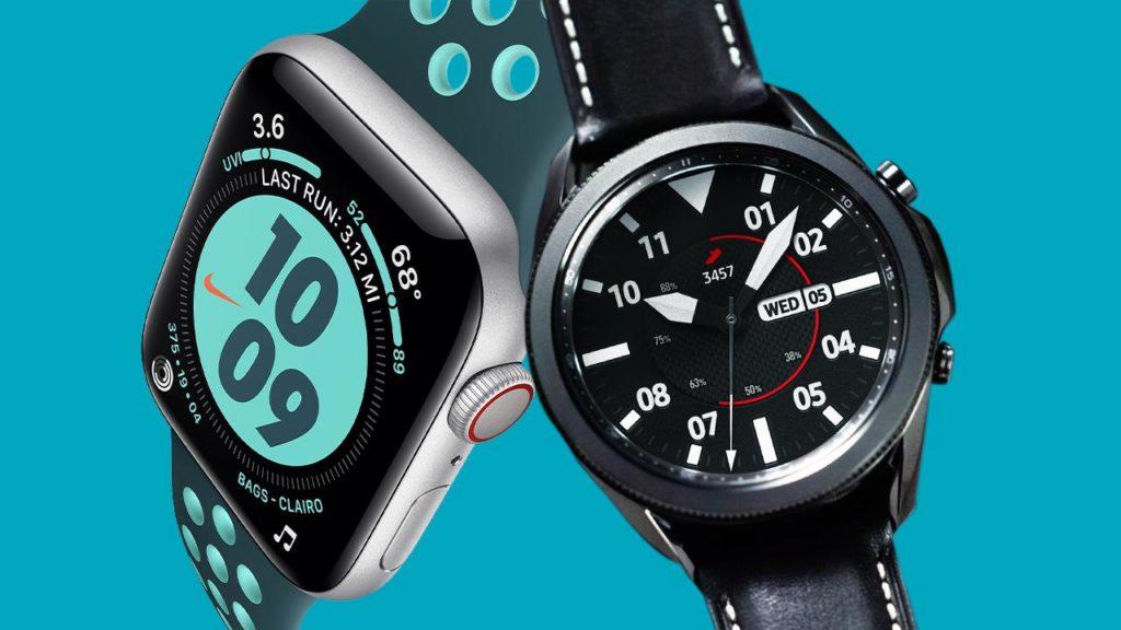 Samsung Watch 3 Vs Apple Watch 5