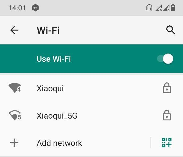 Connecting on an Android device