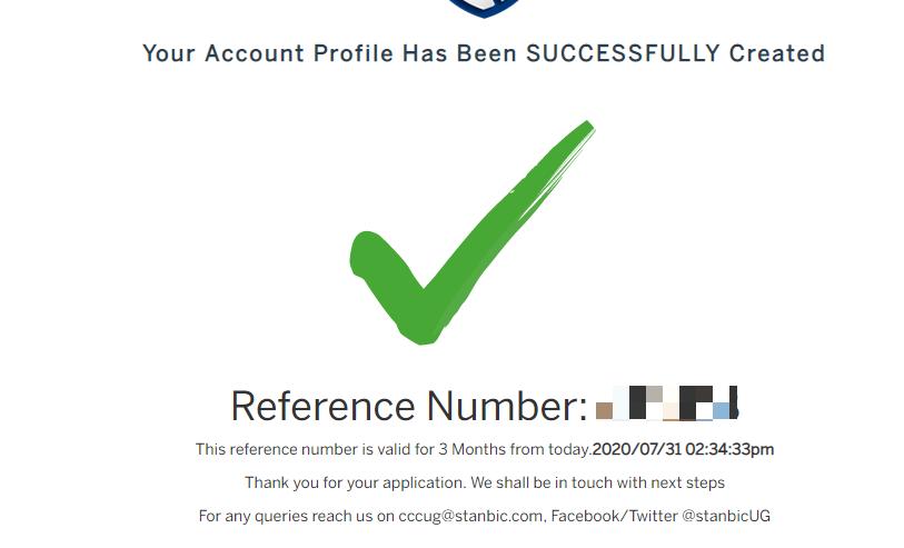 open stanbic bank account online