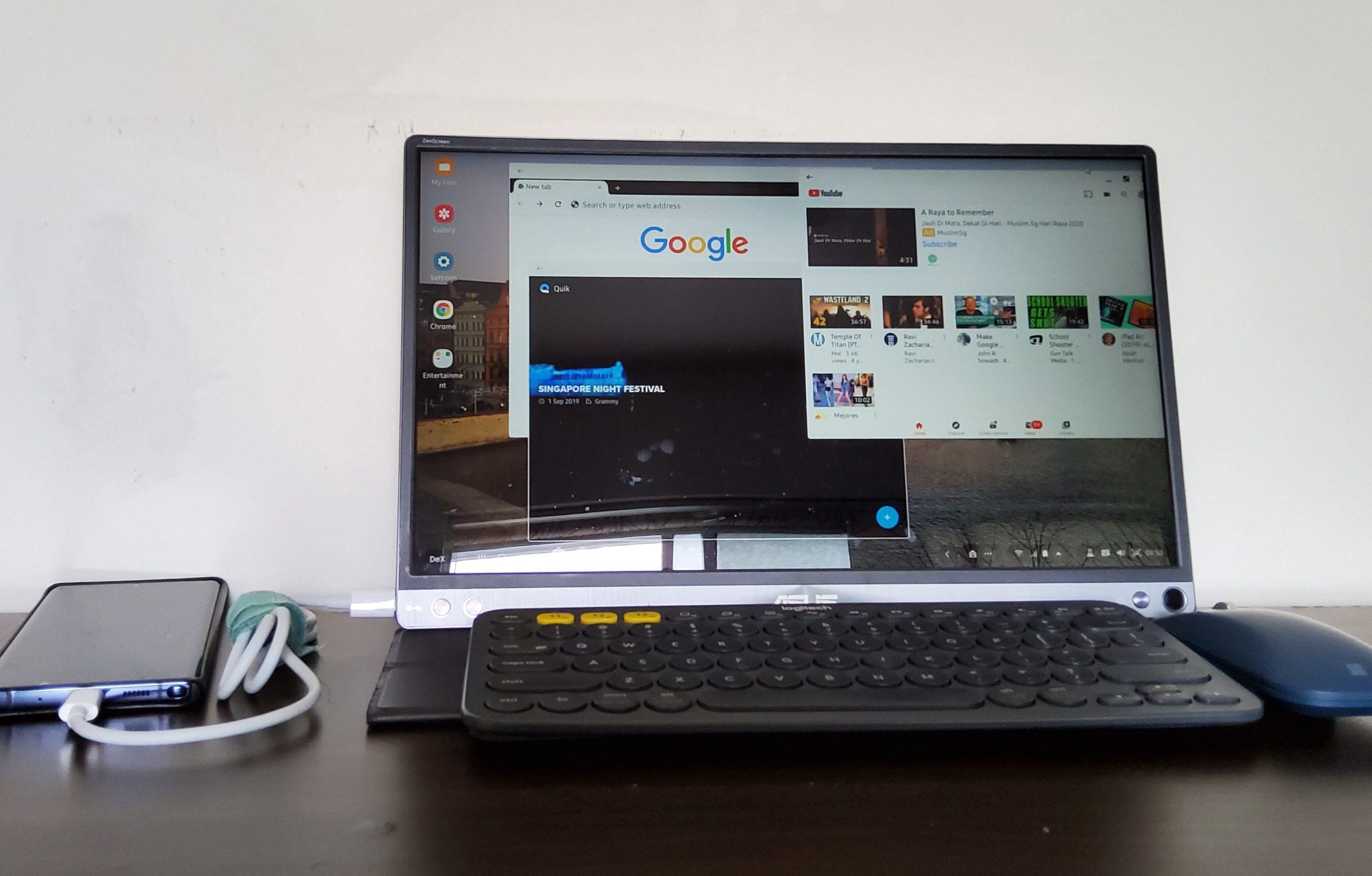 Samsung DeX set-up