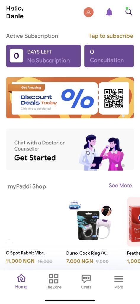 myPaddi app